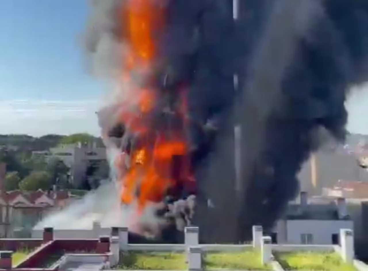 Milano incendio