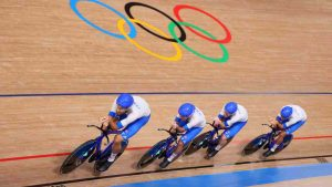 inseguimento italia, record del mondo alle olimpiadi