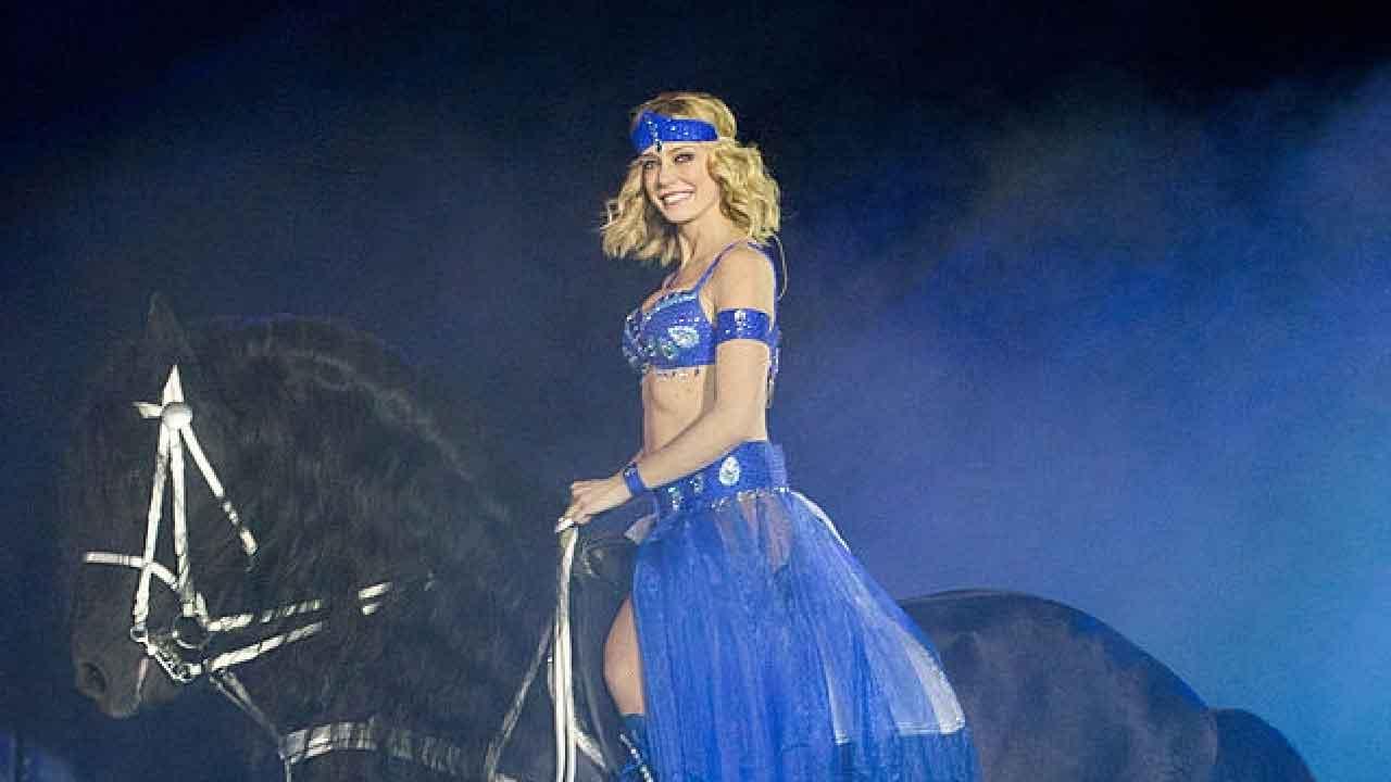 Brigitta Boccoli, la showgirl e attrice che collabora con Moira Orfei (Getty Images)