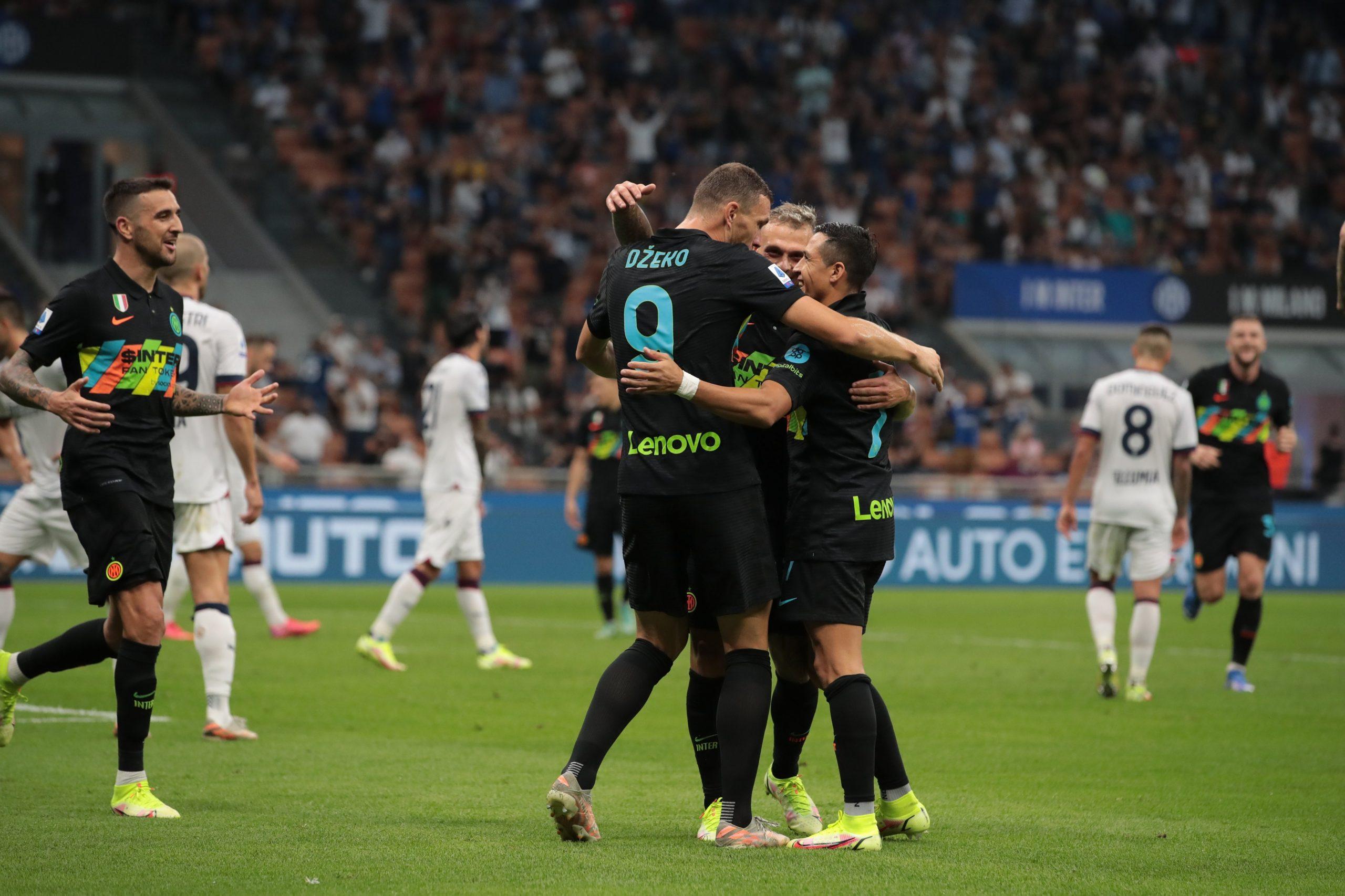 Inter Bologna 6 1, festa nerazzurra: pagelle e tabellino