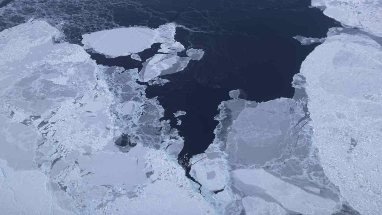 Clima: il ghiaccio marino Artico ha raggiunto il suo minimo annuale