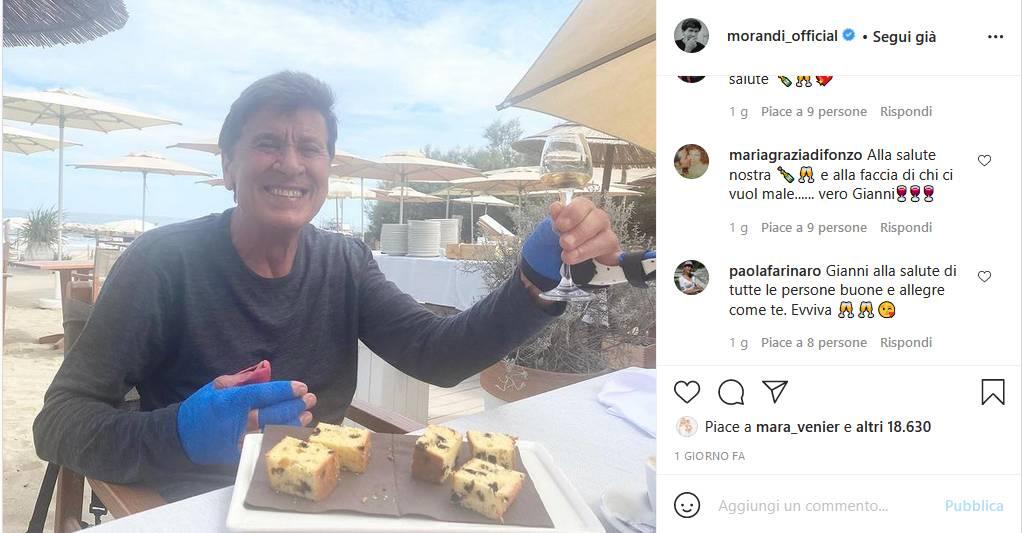 Instagram Gianni Morandi
