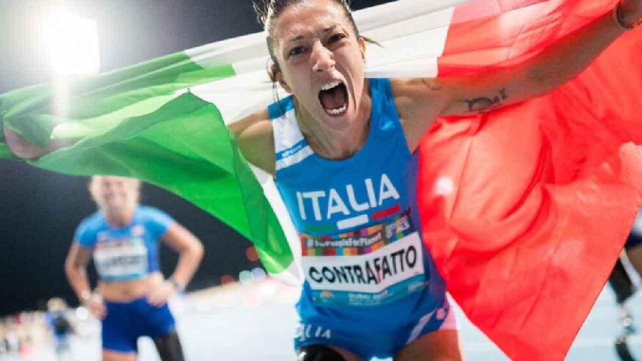 Monica Contraffatto, chi è la campionessa paralimpica azzurra (Foto dal web)