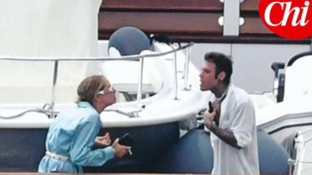 fedez e chiara ferragni, la verità sul litigio sullo yacht