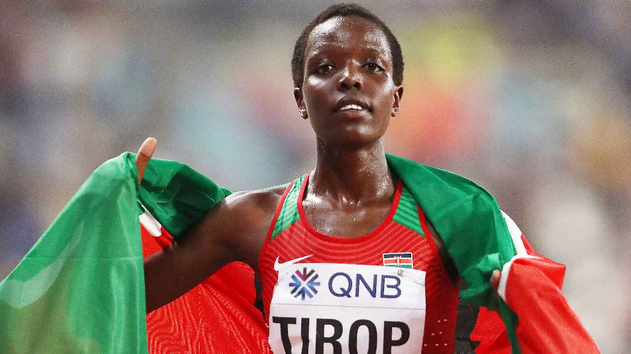 Uccisa la campionessa del mondo Keniana dal suo fidanzato a coltellate (Getty Images)