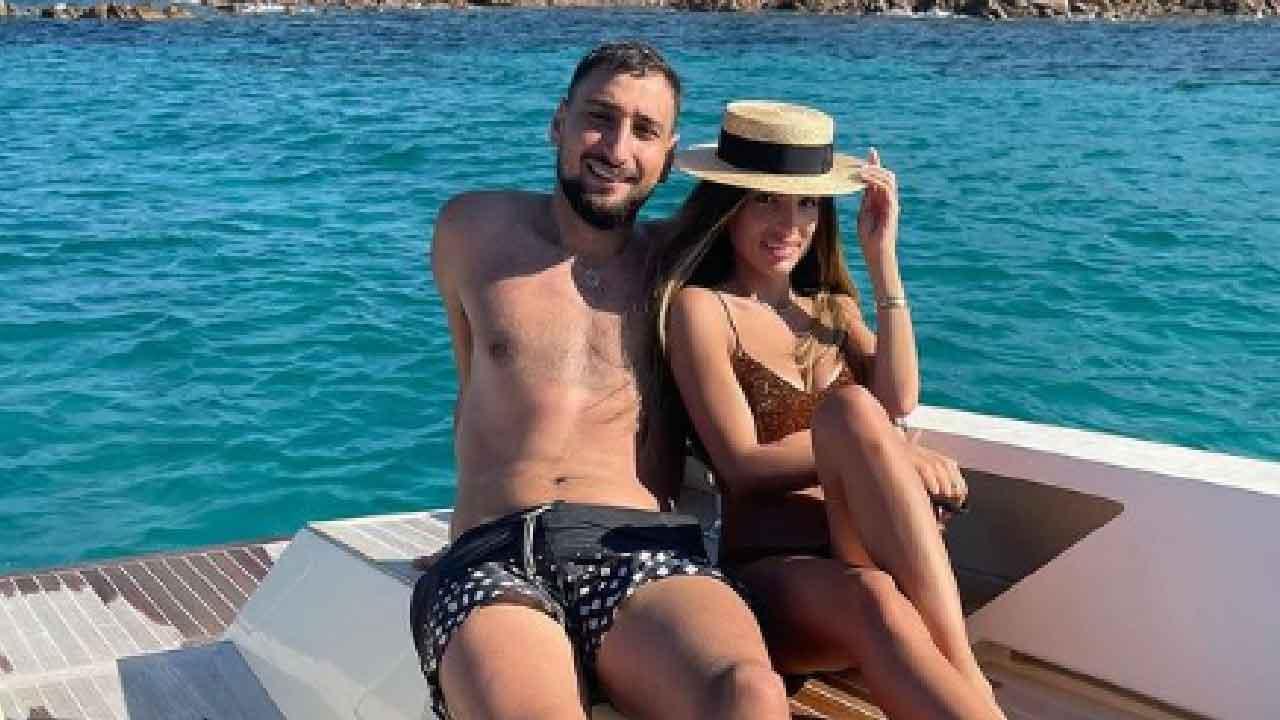 Gigi Donnarumma, le sue vacanze con la fidanzata (Instagram)
