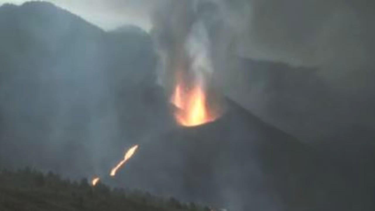 eruzione vulcano la palma canarie